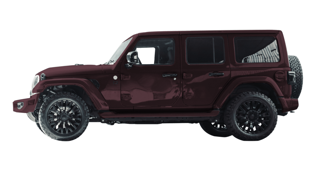Lenoir Jeep - Burgundy Purple