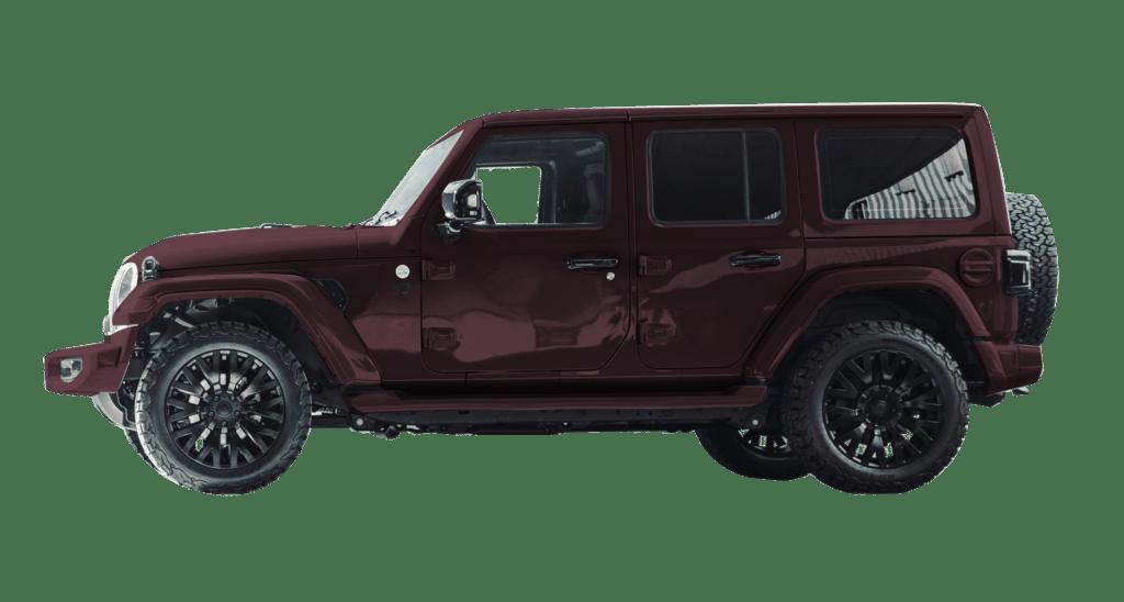 Lenoir Jeep - Burgundy Purple