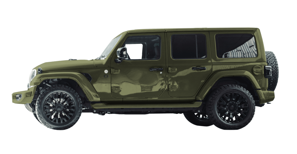 Lenoir Jeep - City Green