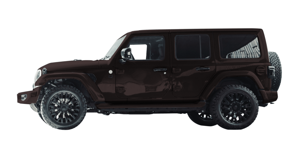 Lenoir Jeep - Coffee Black