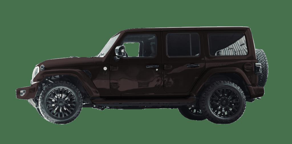 Lenoir Jeep - Coffee Black