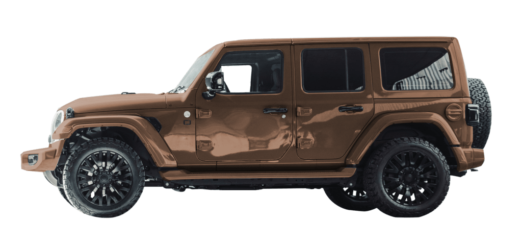 Lenoir Jeep - Copper Dust