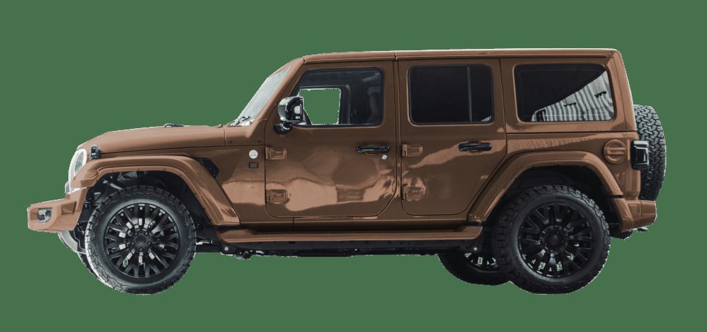 Lenoir Jeep - Copper Dust