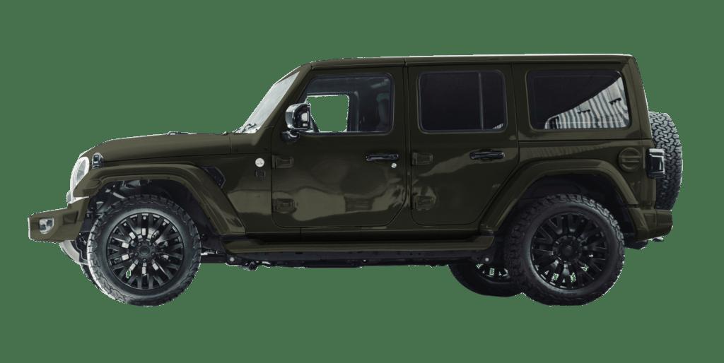 Lenoir Jeep - Dark Olive