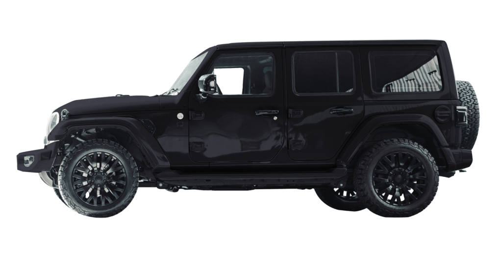 Lenoir Jeep - Deep Water