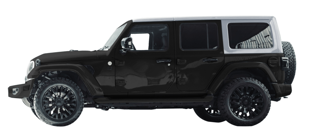 Lenoir Jeep - Dual tone black - silver