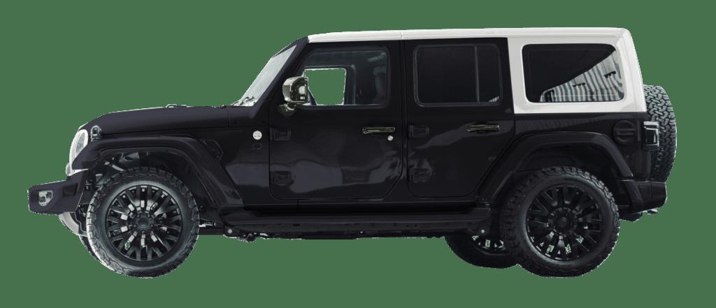 Lenoir Jeep - Dual tone deep water - pearl