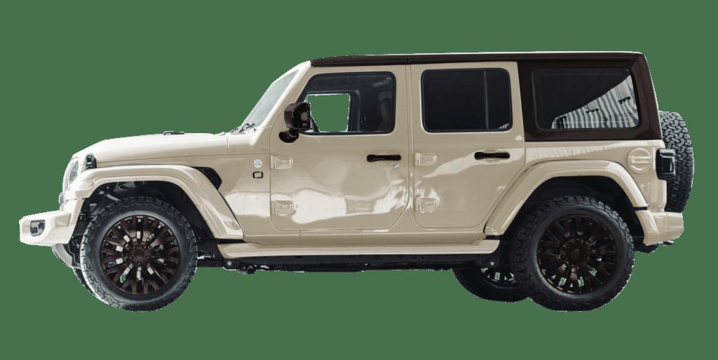 Lenoir Jeep - Dual tone desert sand - coffee