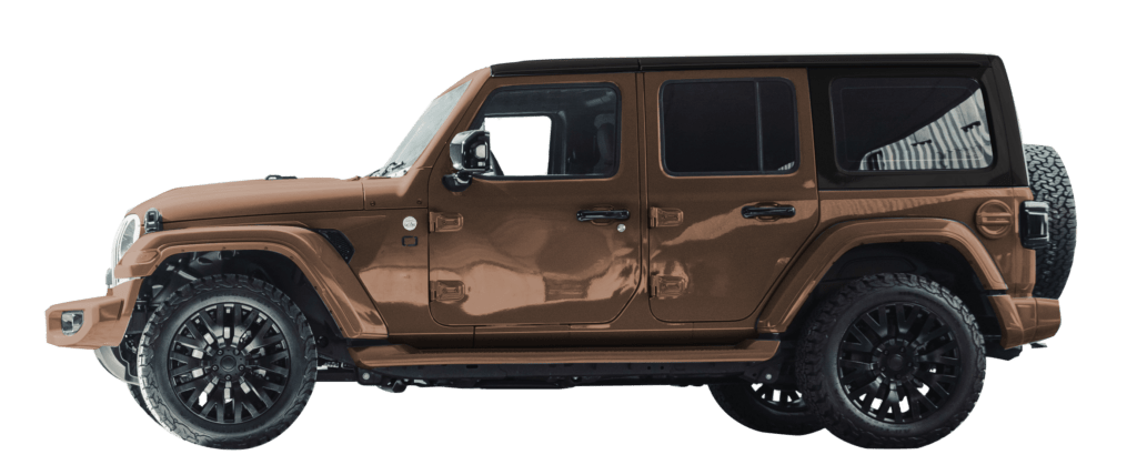 Lenoir Jeep - Dual tone copper gold - black