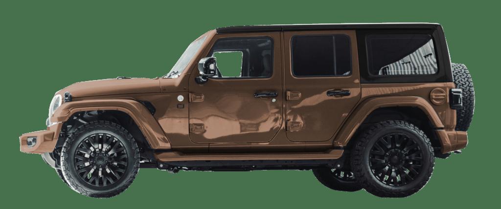 Lenoir Jeep - Dual tone copper gold - black