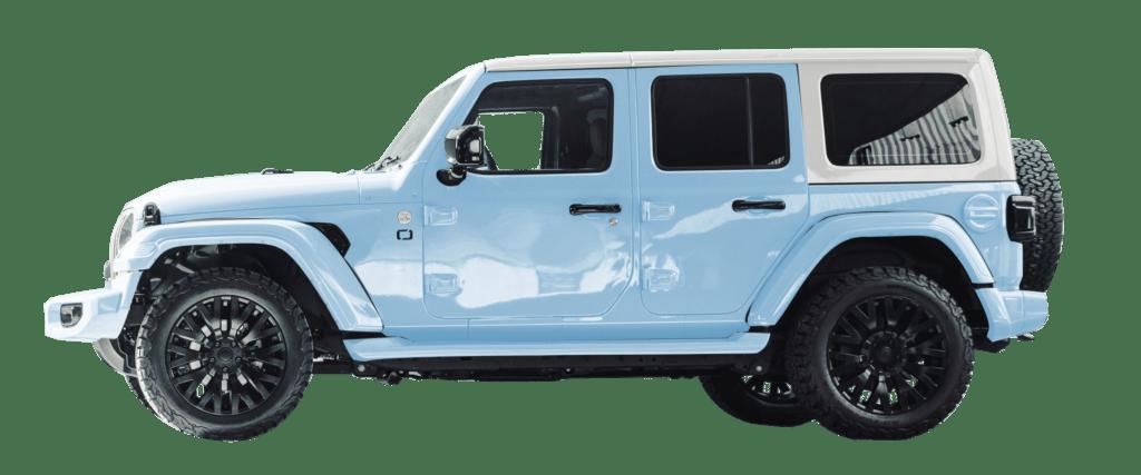 Lenoir Jeep - Dual tone ice blue - pearl
