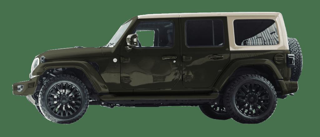 Lenoir Jeep - Dual tone olive - desert