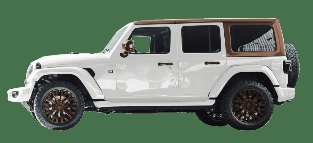 Lenoir Jeep - Dual tone pearl - copper dust