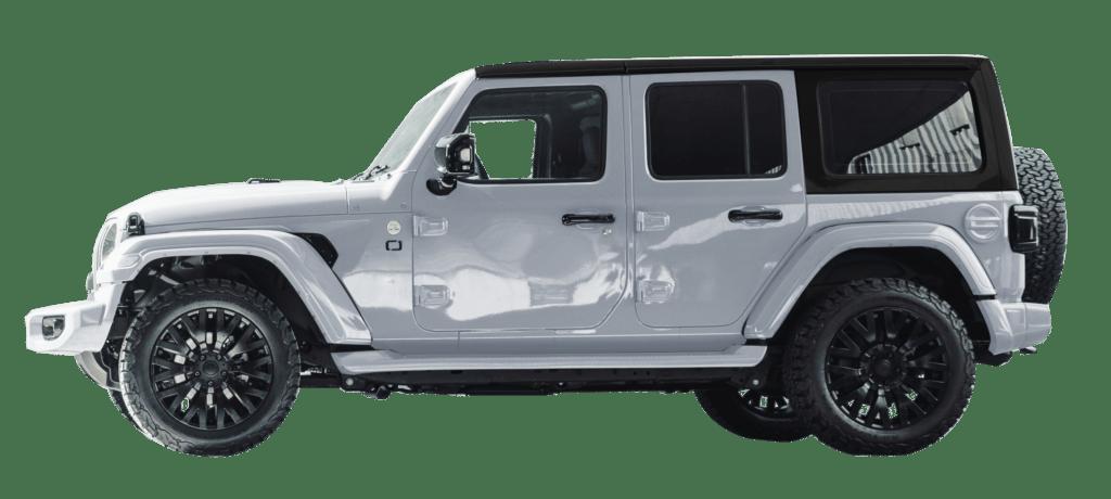 Lenoir Jeep - Dual tone silver frost - black