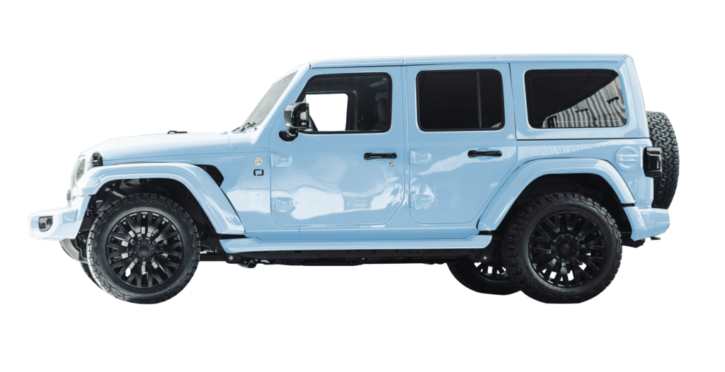 Lenoir Jeep - Ice Blue