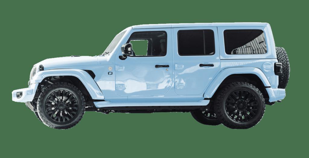 Lenoir Jeep - Ice Blue