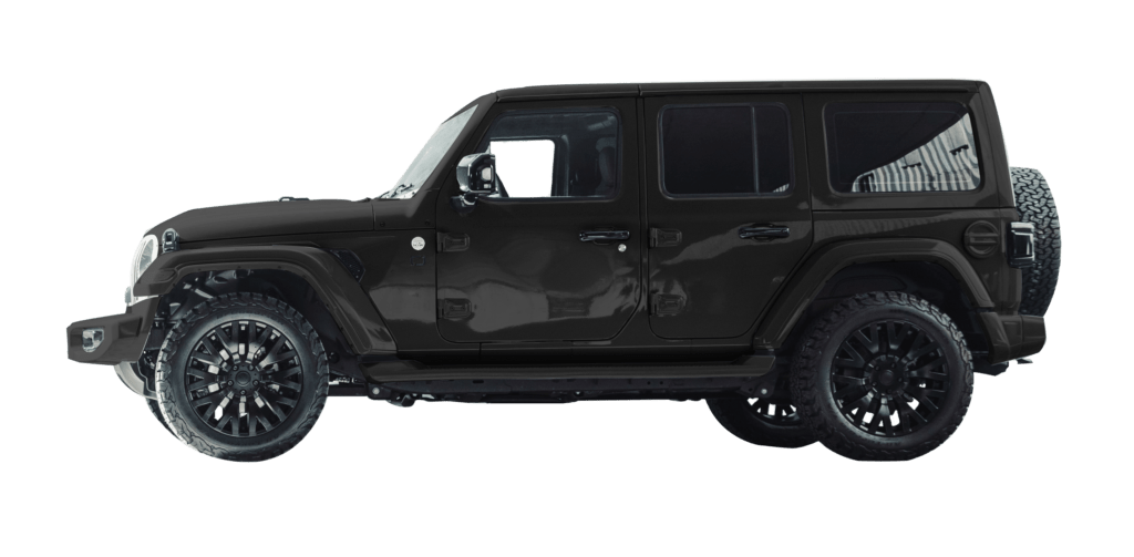 Lenoir Jeep - Matte Night Grey