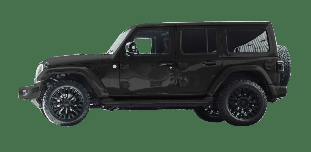 Lenoir Jeep - Matte Night Grey