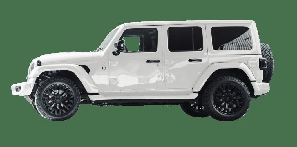 Lenoir Jeep - Pearl White