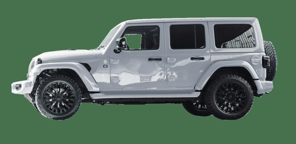 Lenoir Jeep - Silver Frost