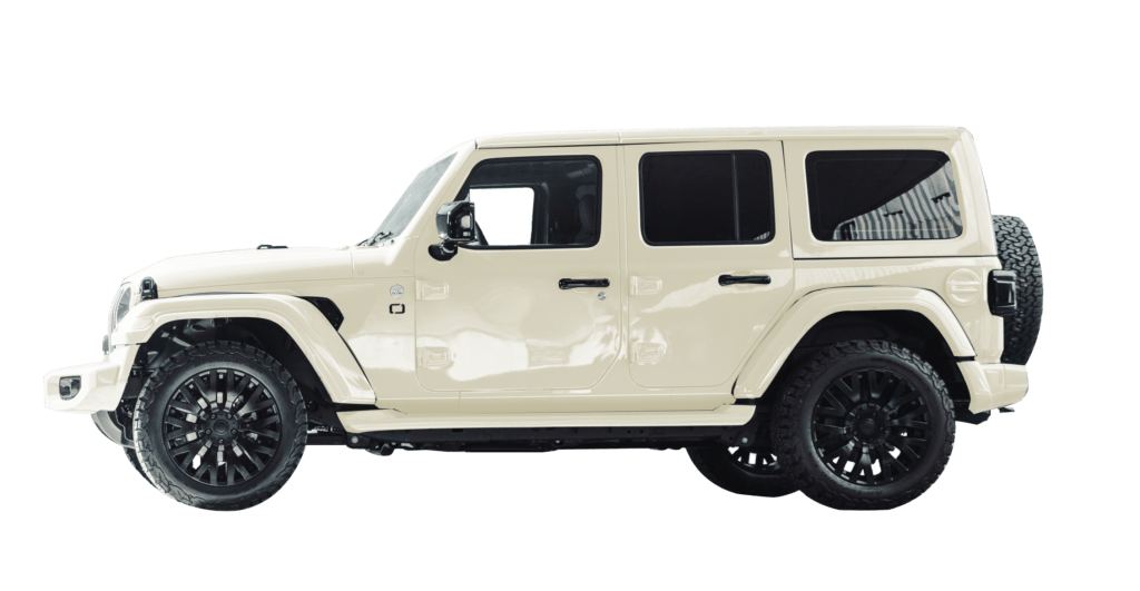 Lenoir Jeep - Vintage White