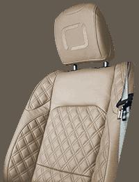 Lenoir Jeep interior - Beige - zetel