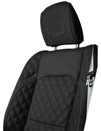 Lenoir Jeep interior - Black - zetel