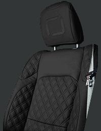 Lenoir Jeep interior - Black - zetel