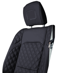 Lenoir Jeep interior - Dark Blue - zetel