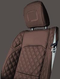 Lenoir Jeep interior - Dark Brown - zetel