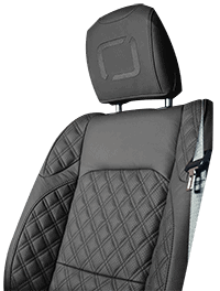 Lenoir Jeep interior - Dark Grey - zetel