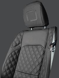 Lenoir Jeep interior - Dark Grey - zetel