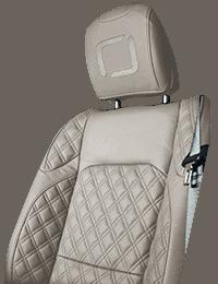 Lenoir Jeep interior - Ivory - zetel