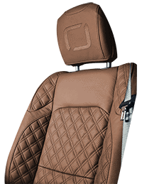 Lenoir Jeep interior - Light Brown - zetel