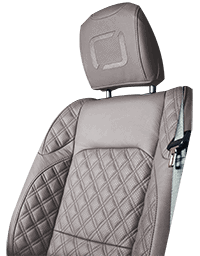 Lenoir Jeep interior - Light Grey - zetel