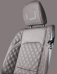 Lenoir Jeep interior - Light Grey - zetel