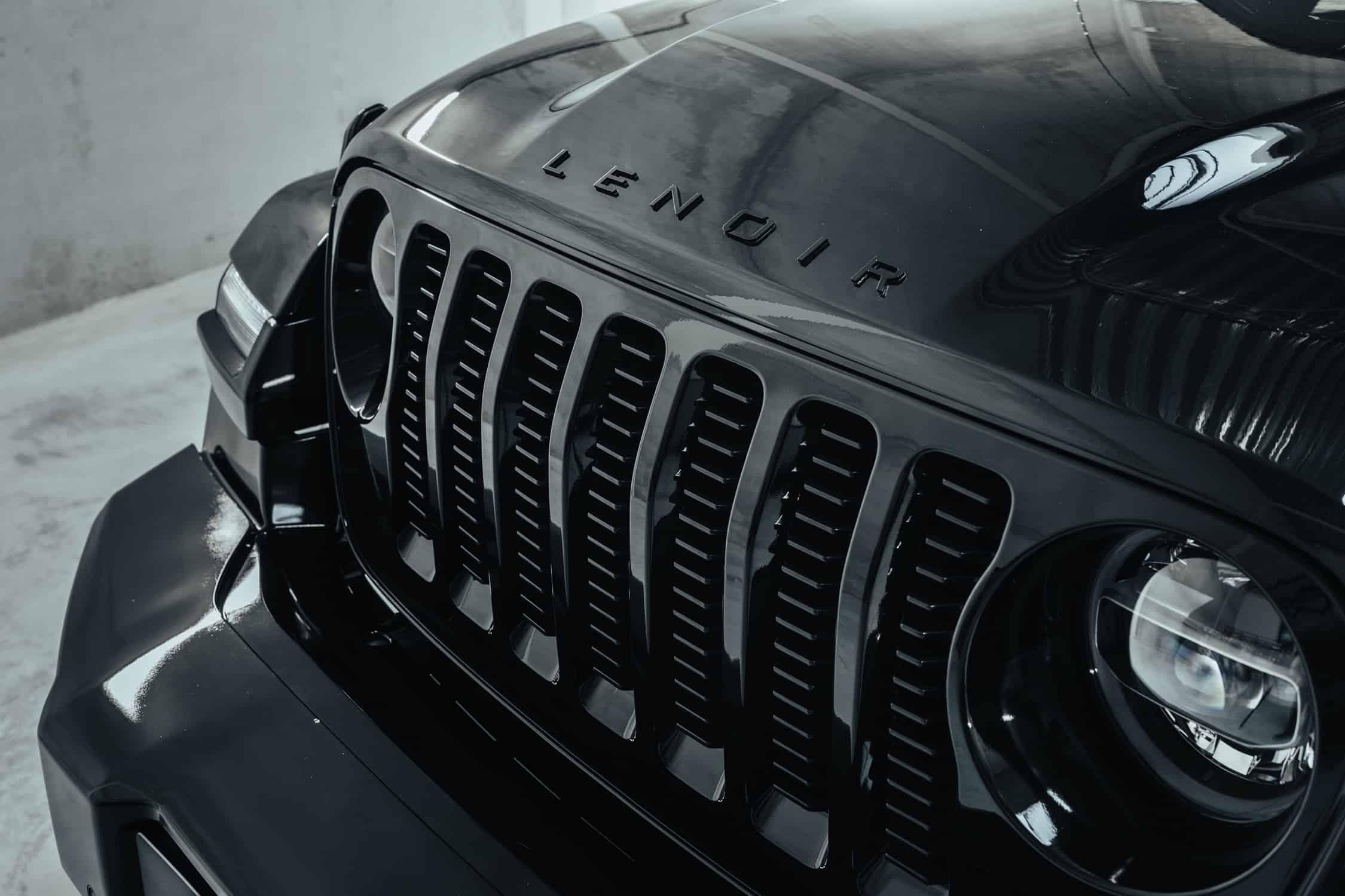 Lenoir Jeep | Custom Wrangler & Gladiator | JL Black | Grille